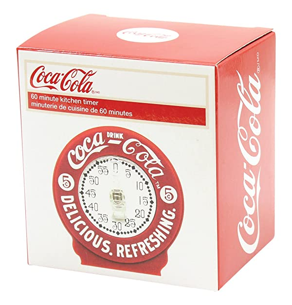 Coca Cola Kitchen Timer (Color: Red)