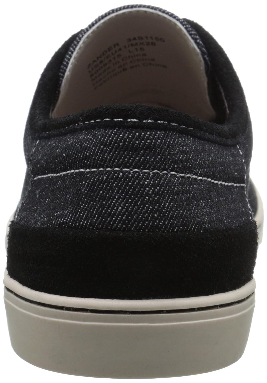 Amazon.com | CK Jeans Mens Zander Denim, Black 7 M US | Fashion Sneakers