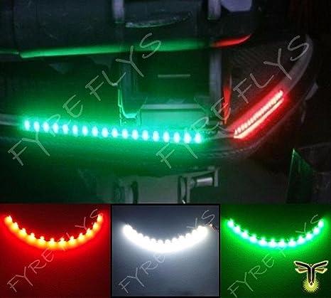 Amazon Com 3x Boat Kayak Navigation Lights Led Lighting Red Green