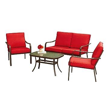 Amazon.com: OE TSR - Juego de 4 cojines de asiento para ...