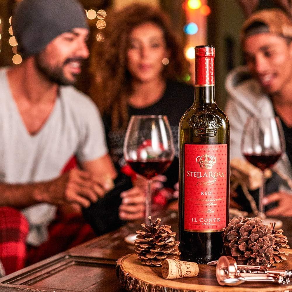Il Conte 1917 Stella Rosa Red Halloween Glass 12 Abv 750 Ml At Amazon S Wine Store
