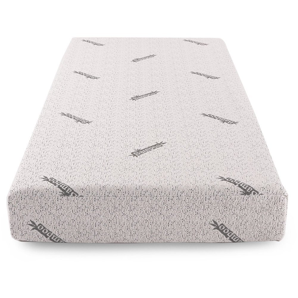 Bamboo Charcoal Fiber Fabric Eco Memory Foam Natural Twin Mattress