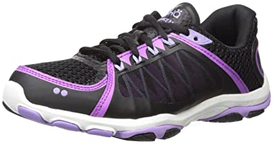 494ff8659f5 Ryka Women s influence2.5 Cross-Trainer Shoe Black Purple 5 ...