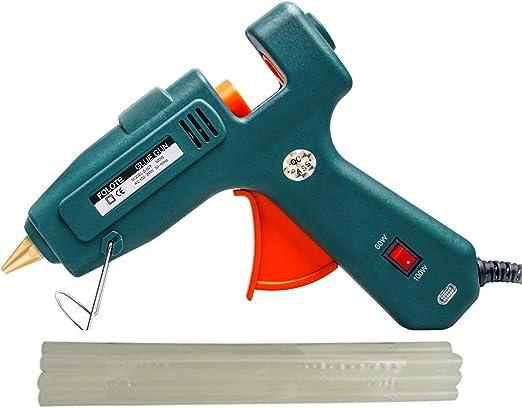 Hot Glue Gun Folote Full Size 60w 100w Glue Gun Kit High Temperature Melting Glue Gun For Diy Arts Crafts Use Home Quick Repairs Festival Decoration No Include 10 Glue Sticks Amazon Ca Home