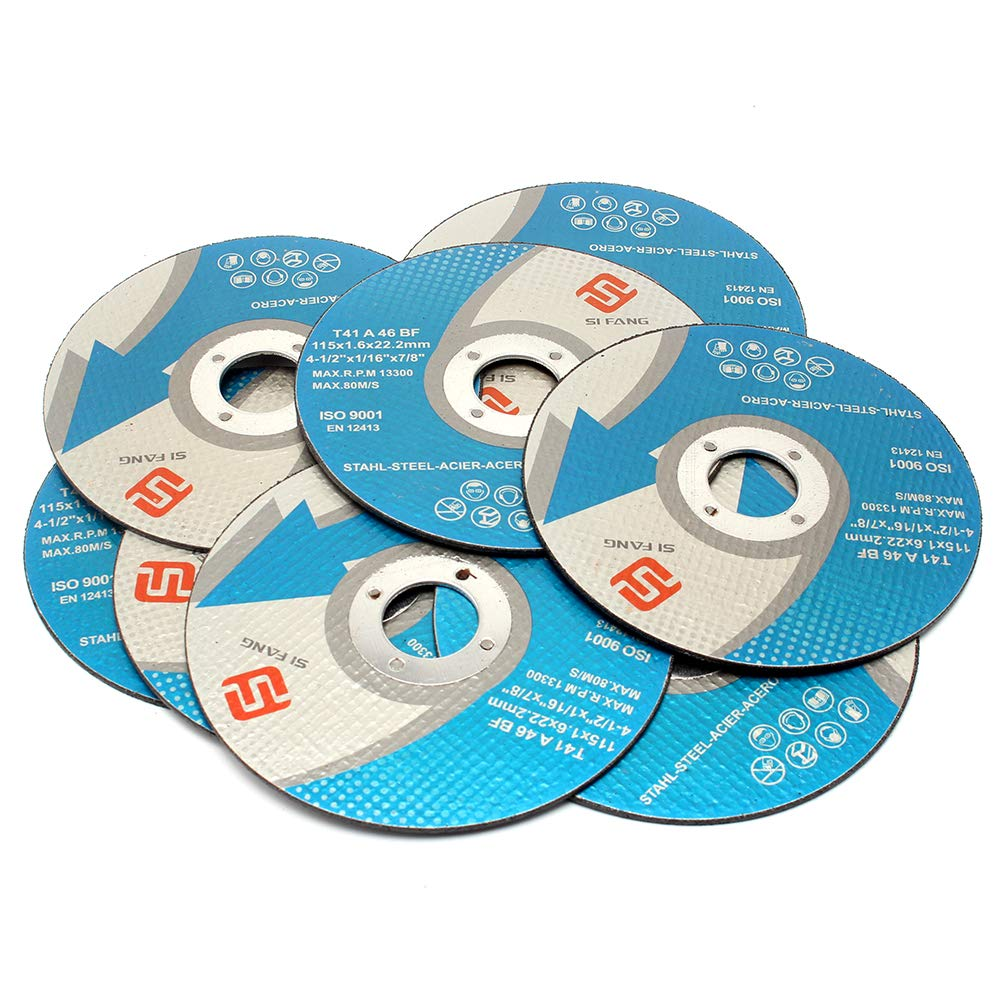 """100 Pack 4-1//2/"""" Cut-off Wheels for All Ferrous Metals /& Stainless Steel"""