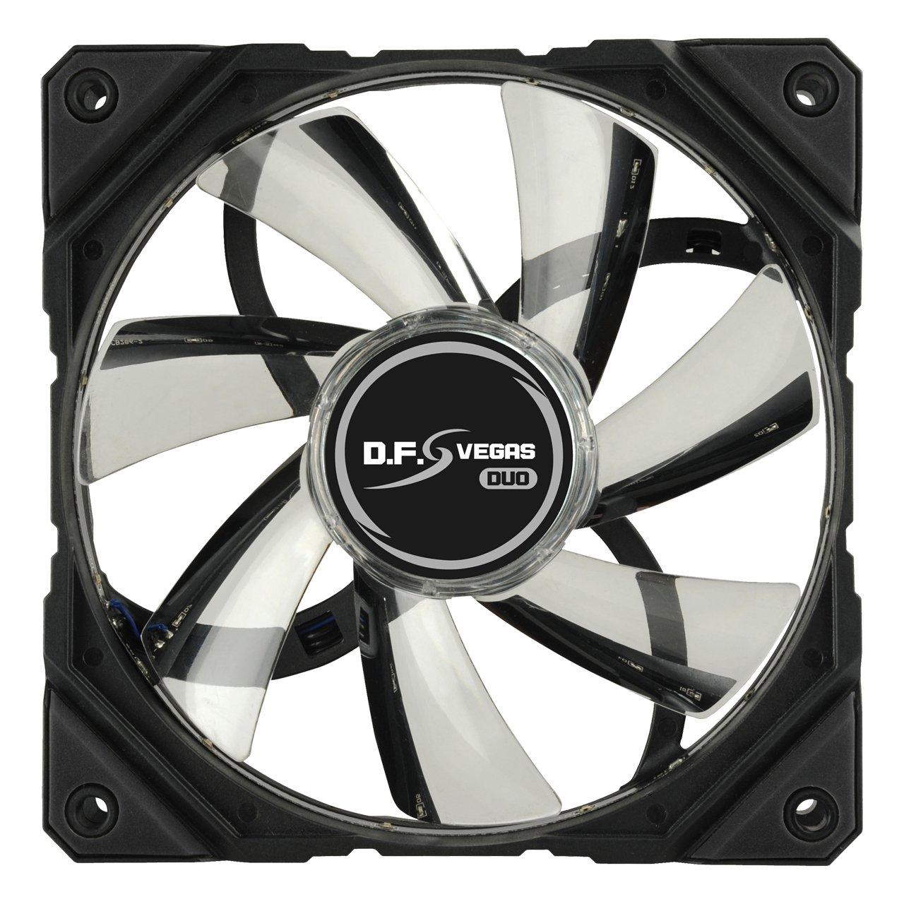 Ventilador de PC Carcasa del Ordenador, Ventilador, 12 cm, 900 RPM, 17 dB, 37,54 cfm Enermax UCTA12N-R