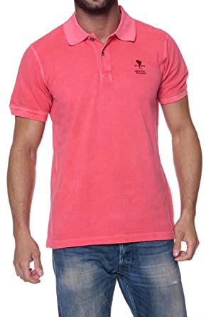 Cape Horn Polo WorldS Travellers, Color: Fucsia: Amazon.es: Ropa ...