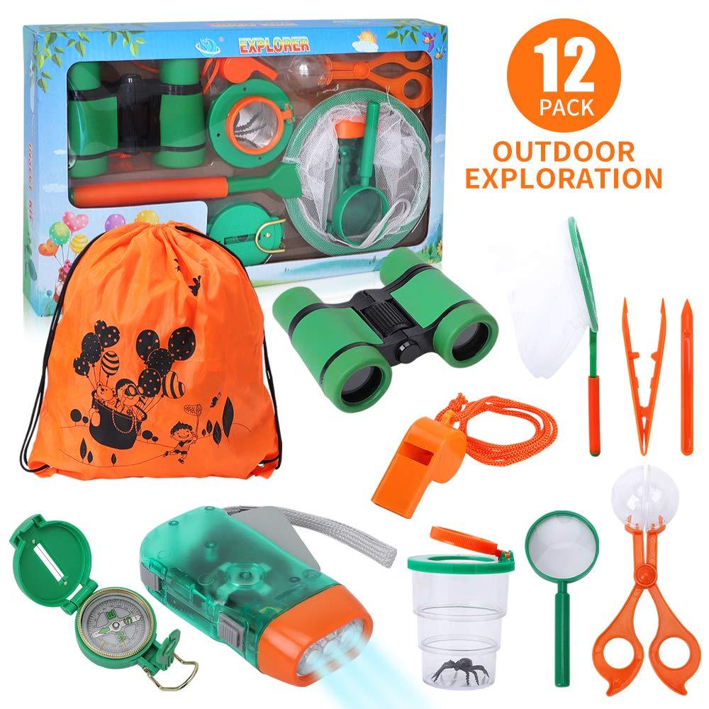 Lehoo Castle Kit de Explorador para Niños