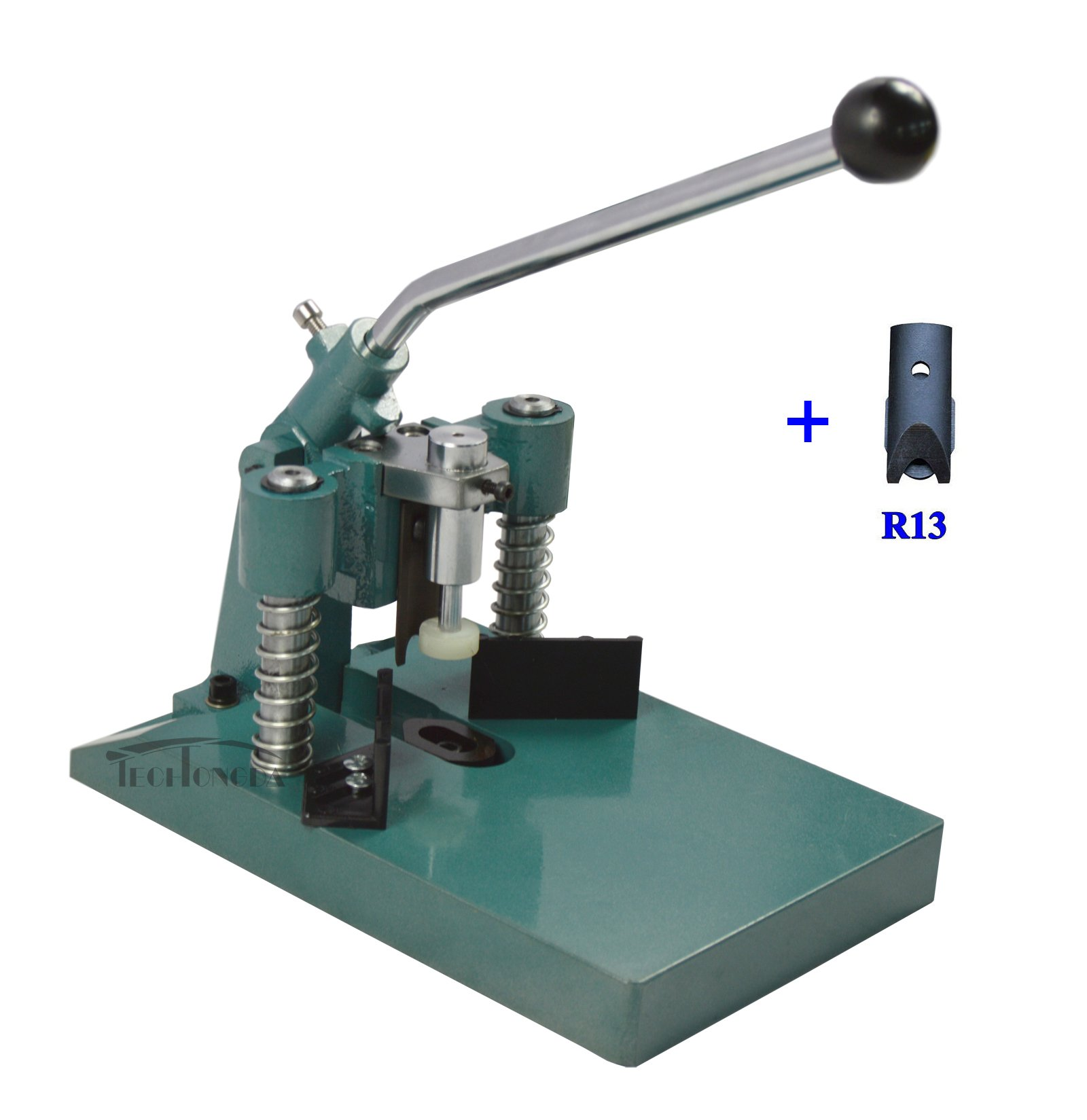INTBUYING All Metal Standard Corner Rounder with R6 R10 R13 Blades Paper Weight