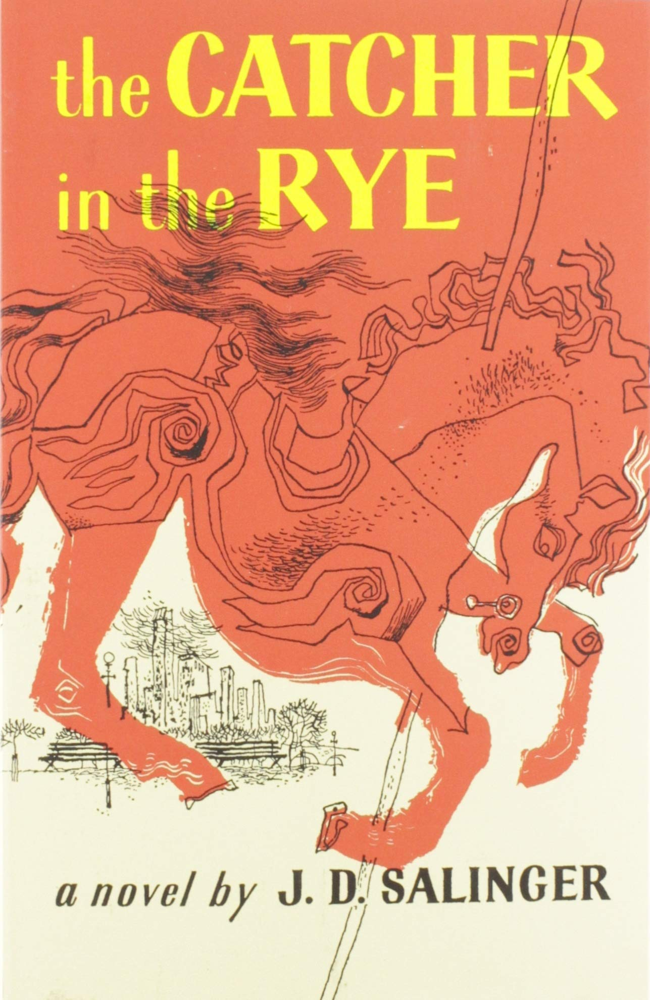 The Catcher in the Rye by J. D. Salinger - Book for teens