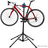 Folding Bicycle Bike Cycle Repair Maintenance Stand Workstand Home Mechanic-Black & Blue