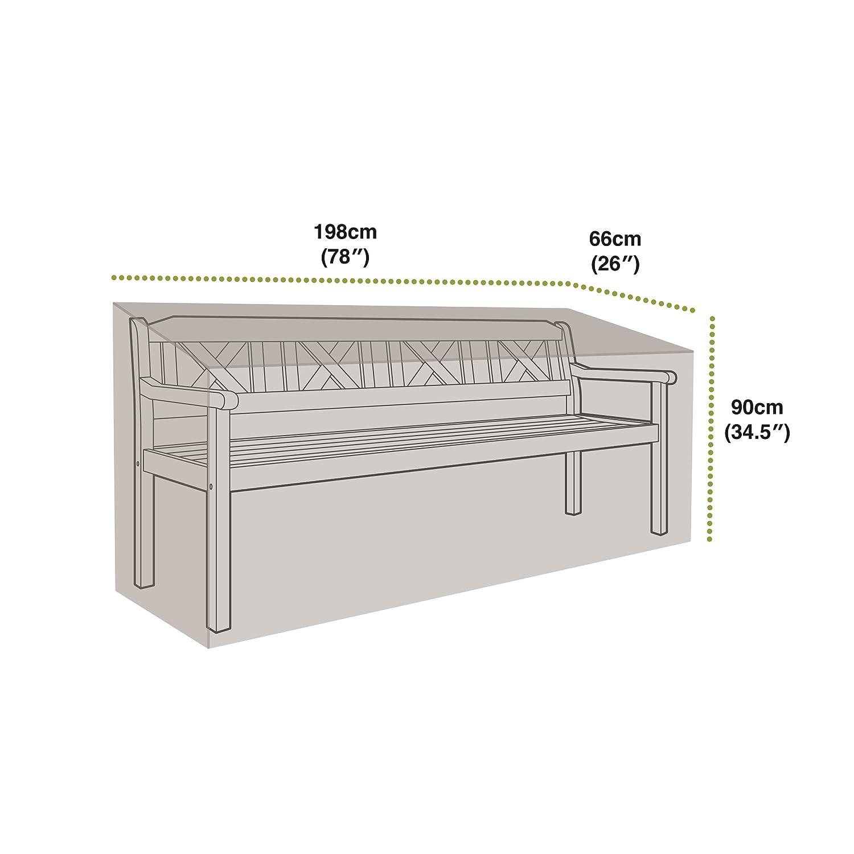 Gardman 32211 Bench Cover - 4 Seater