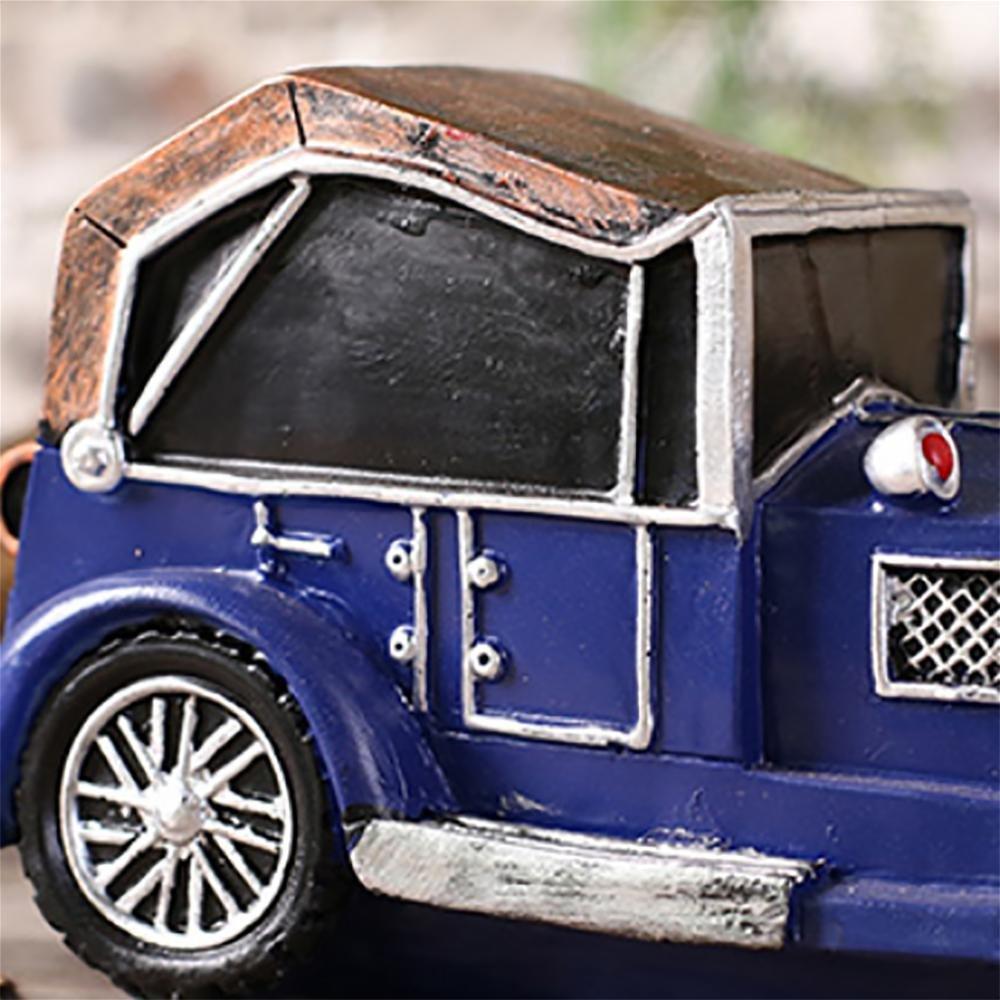 Eisendekoration Antike Klassische Auto-Modell Metall-Handwerk Metall-Handwerk Metall-Handwerk Handgemachtes Auto-Modell Kreatives Geschenk (Nicht Arbeiten) 24cm11cm13cm/9.44