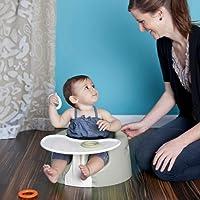Bumbo Combo 2-in-1 (Floor Seat & Play Tray) - Cool Grey