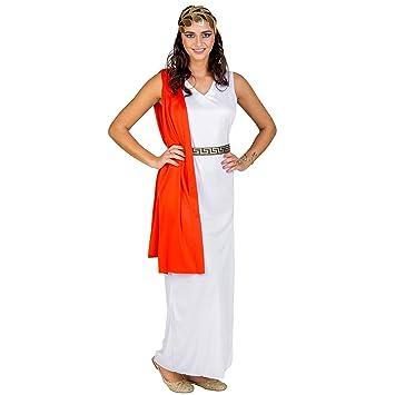 dressforfun Disfraz de diosa romana venus para mujer | Vestido con cinturón y cinta con aspecto