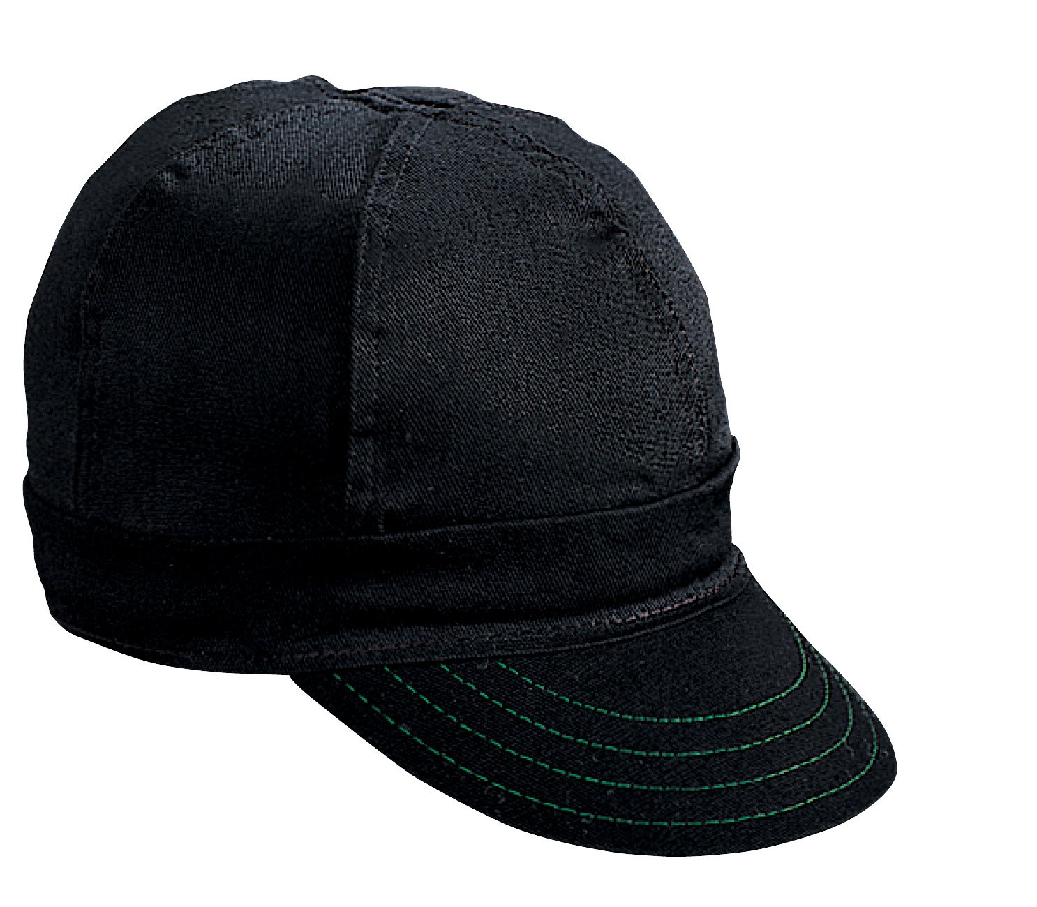 Mutual Industries 00250-00000-7625 Kromer Black Welder Cap, Cotton, Length 5', Width 6' Length 5 Width 6