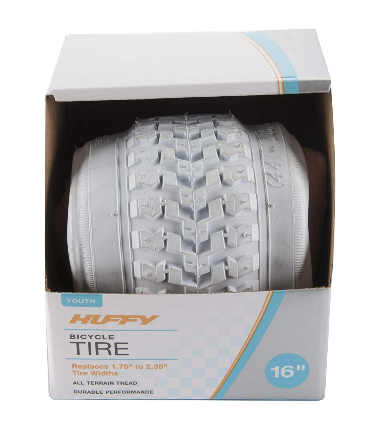 Huffy Bike Tire Replacement 16 20 24 26 27.5 29 White /& Black