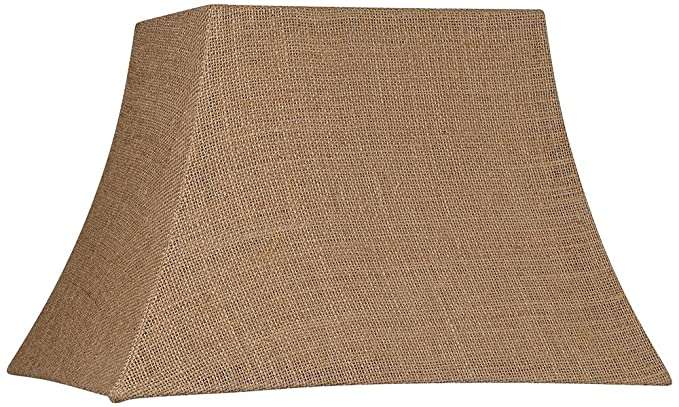 Brentwood natural burlap rectangle lamp shade 710x1216x11 spider brentwood natural burlap rectangle lamp shade 710x1216x11 spider aloadofball Gallery