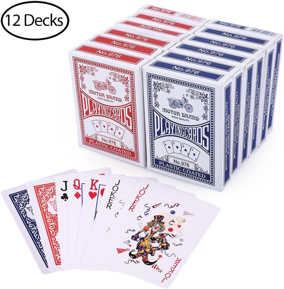 plusieurs jeux de cartes pour château de cartes géant