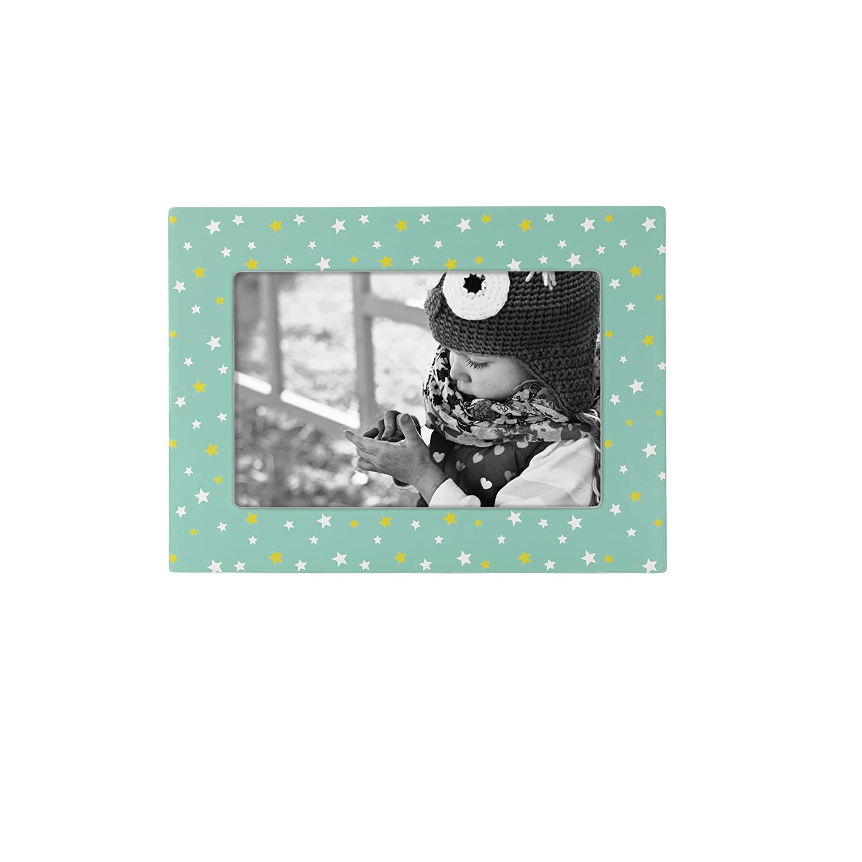 Reed /& Barton Hazlenut Hollow Stars 4 x 6 Frame 6146S