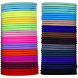 Mybox 69pezzi 3mm multicolore capelli elastici capelli cravatta no metal Gentle Elastics