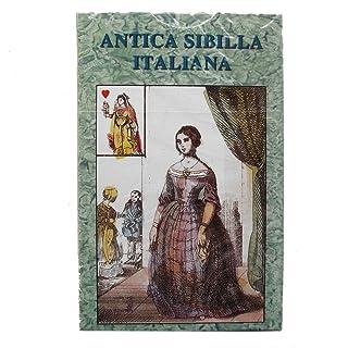 Antica Sibilla Italiana Oracle, Mazzo di 32 Carte Oracolo in Italiano