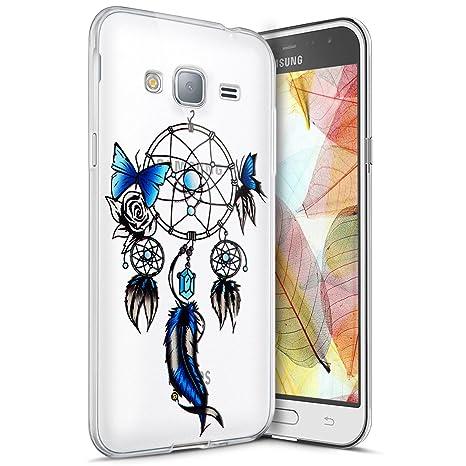 Amazon.com: Galaxy J2 Prime TPU Case,Surakey Galaxy J2 Prime ...