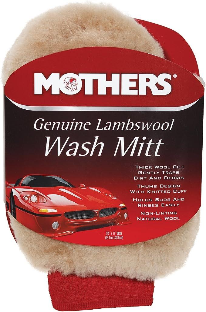 Useful Soft Lambswool Car Wash Mitt Deep Pile Cleaning Glove Wash Tool super