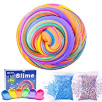 6-Pk AUNOOL 7OZ Fluffy Floam Slime Scented Stress Relief Toy Deals