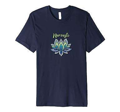 Amazon namaste lotus flower t shirt yoga hindi sanskrit mens namaste lotus flower t shirt yoga hindi sanskrit 3xl navy mightylinksfo