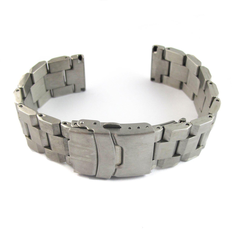 (ユーユーピフア)YouYouPifa 金色精巧的なステンレス鋼 腕輪 交換用腕時計バンド 24mm 金色& 24mm B013W4OBZ0