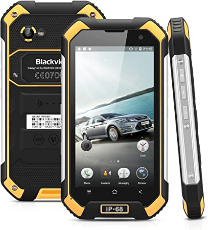 Blackview BV6000-32GB Smartphone Libre Impermeable IP68 (Android 6 ...