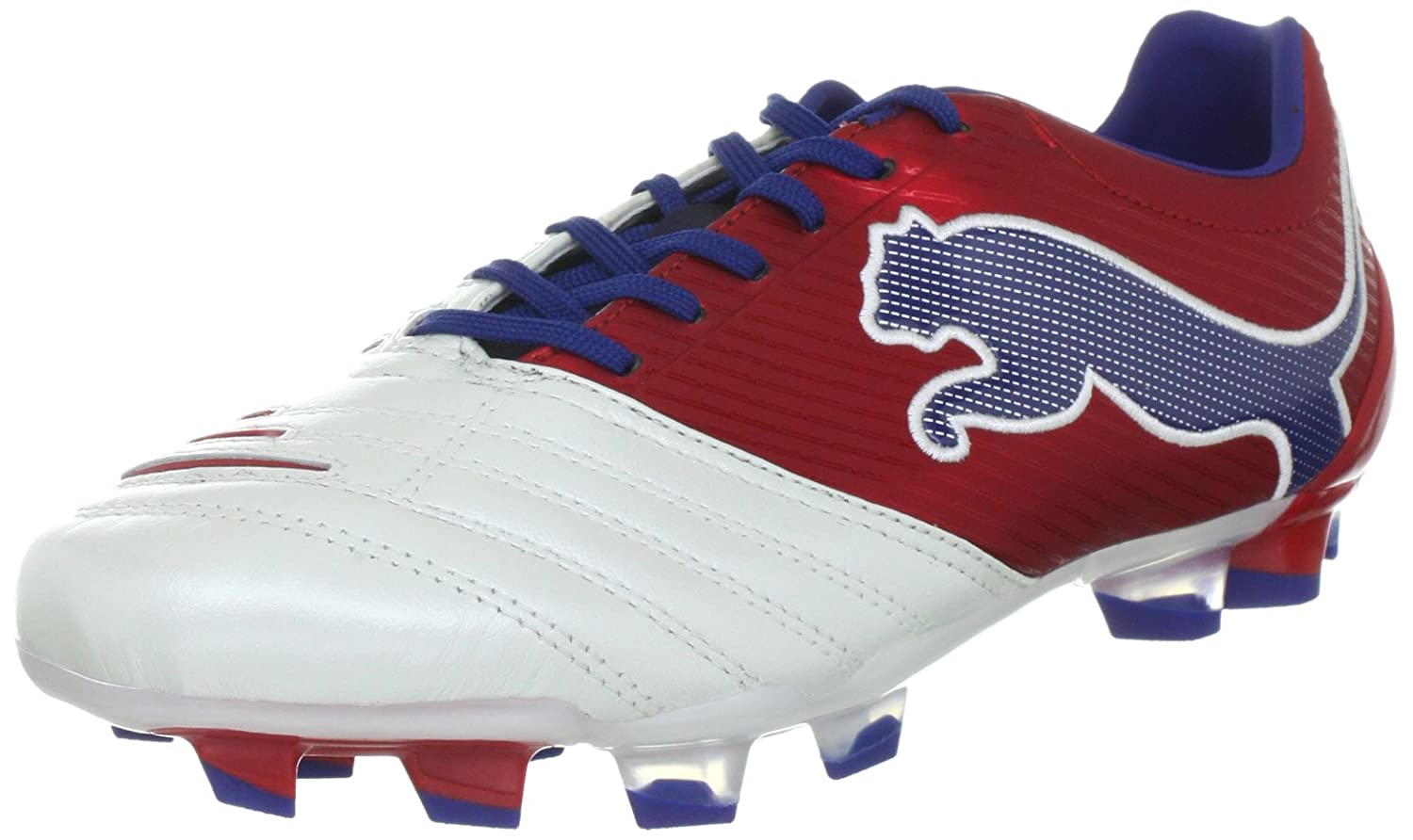 Puma PowerCat 2.12 FG Mens Leather Soccer Boots / Cleats