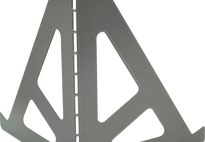 Premium Vinyl Display Hudson Hi-Fi BENDYY Desktop-Schallplattenst/änder Schlanker und moderner zeitgen/össischer LP-Albumhalter Schwarzer Satin Vinyl Display Stand Satz von 1