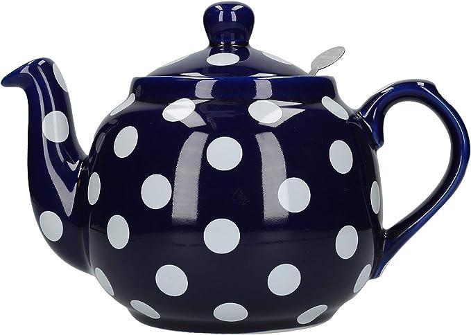 10 Tazas Color Blanco Tetera Dexam 17250110 London Pottery