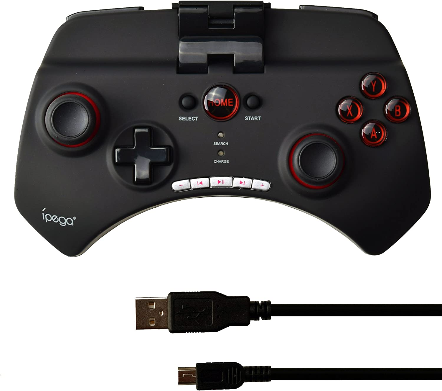 iPEGA PG-9025 Bluetooth Wireless Game Controller Gamepad Joystick for Android Phone / Tablet PC-Black