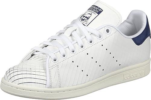 meet c95c9 d656c adidas Stan Smith W, Zapatillas de Gimnasia para Mujer, Blanco Ftwwht Conavy,  40 EU  Amazon.es  Zapatos y complementos