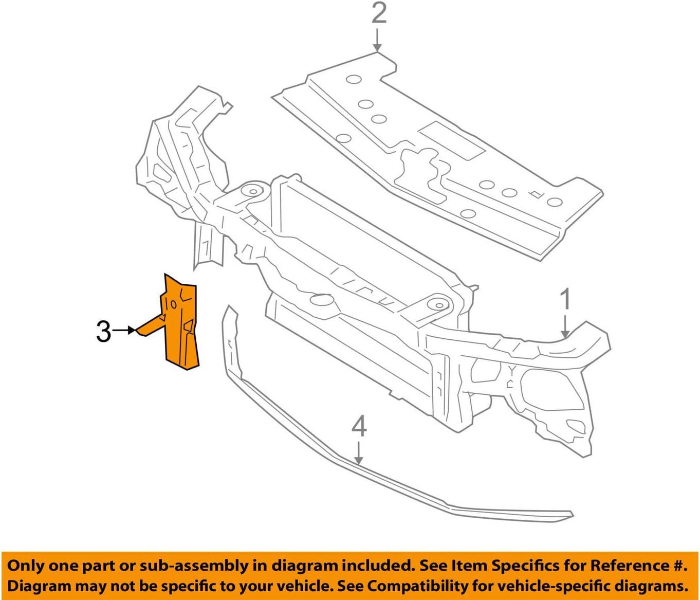 Genuine Ford 5R3Z-8310-AA Deflector