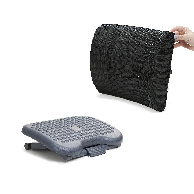 Ergonomic Foot Pressure Relief for Comfort Mind Reader Comfy Rest Back and
