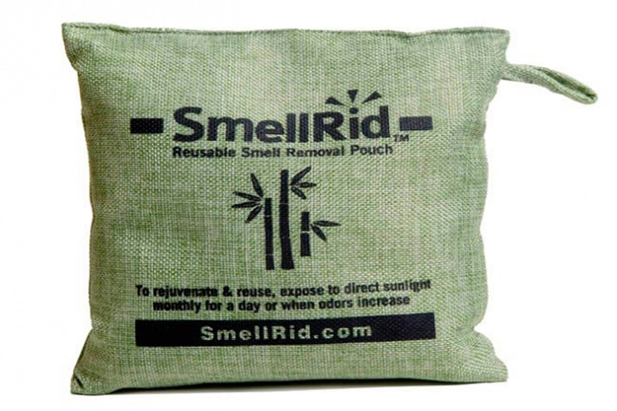 : Treats Up to 300 sq 8.5 X 8.5 XX Large to Eliminate Nasty Smells Pollutants /& Moisture IMTEK Environmental Corp. SMELLRID Reusable Bamboo Activated Charcoal Odor Remover Pouch ft
