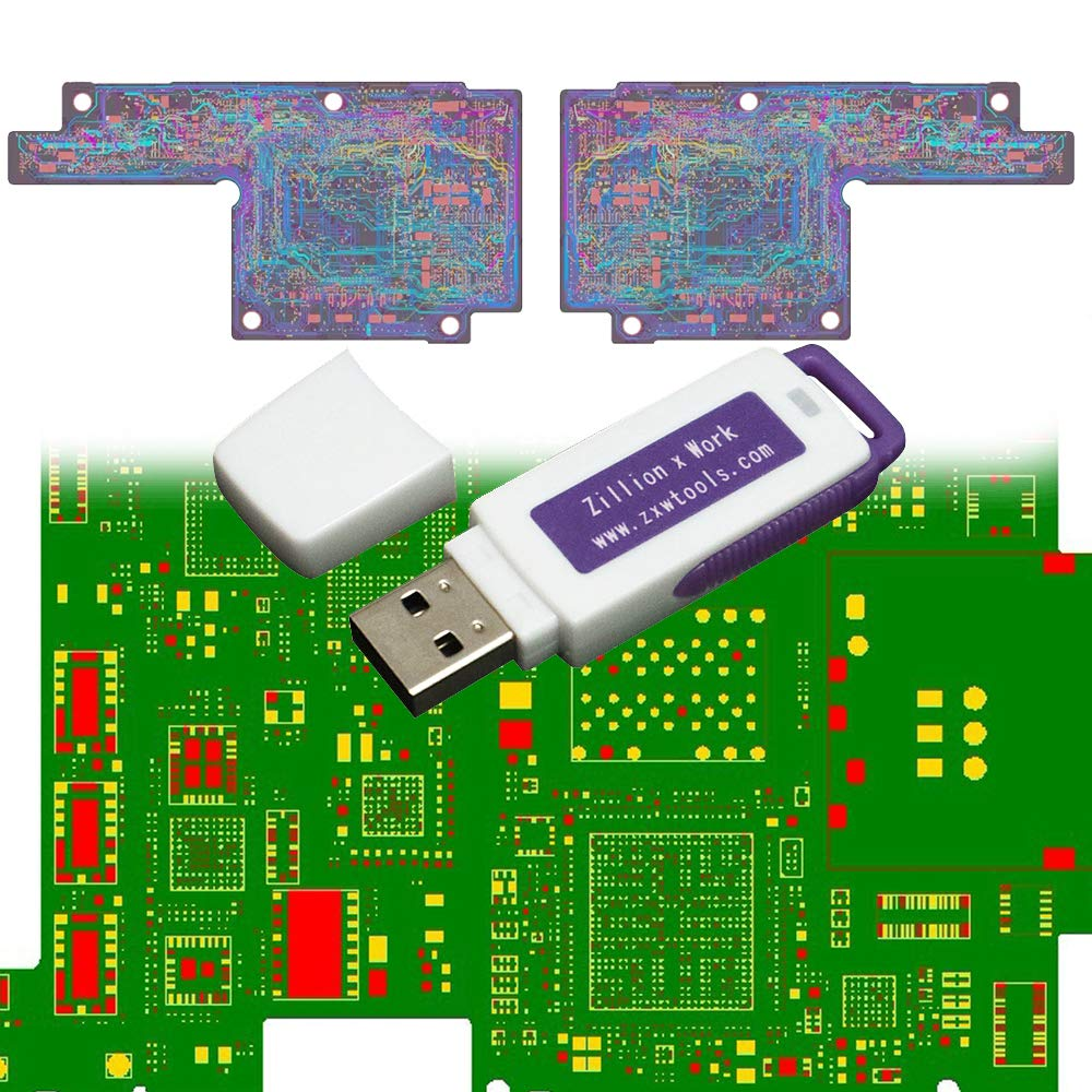 Amazon.com: VIPFIX Latest (2018) Version 2.6 ZXW USB Dongle Blackfish Phone  PCB Schematic Diagram Professional Circuit Diagram for iPhone X 8P 8 7 6 5  4 ...
