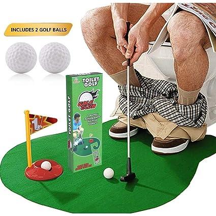 Amazon.com: SAFAK Potty Putter Funny - Juego de regalo para ...