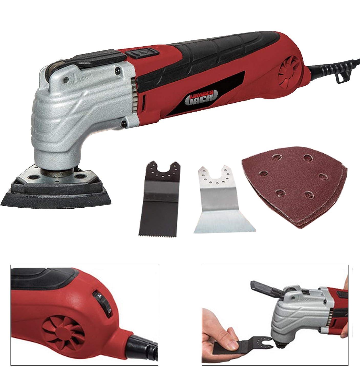 Lumberjack MT300 300W 240V Oscillating Multi Function Tool /& Wood Metal Kit for Sander Scraper