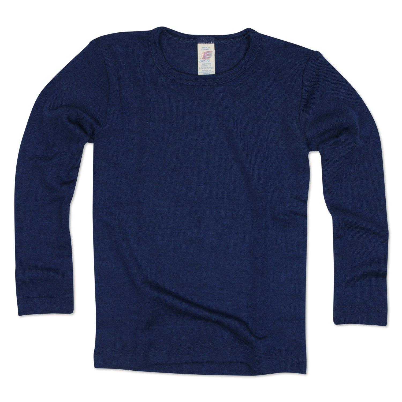 Angelo, bambini maglietta a maniche lunghe, lana, seta, misura 92–176, 6colori misura 92-176 707810