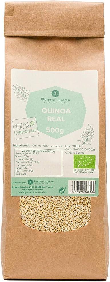 Planeta Huerto | Quinoa Real 100% Ecológica 500 gr | Producto ...