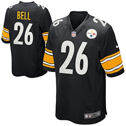 eff4c71fd Amazon.com   Le veon Bell Pittsburgh Steelers Home Replica Jersey ...