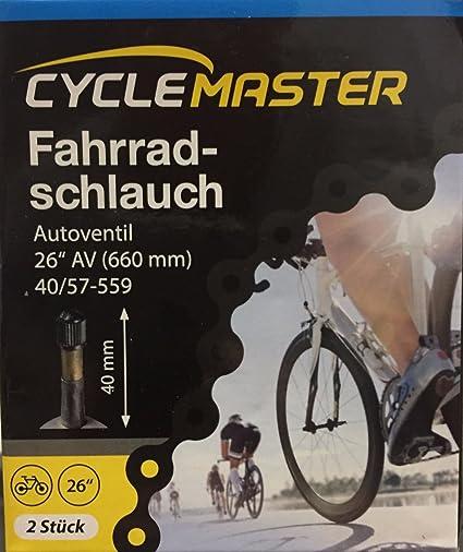 """2x PRESTA Inner Tube 26/"""" 1.75 2.125 Mountain Bike"""