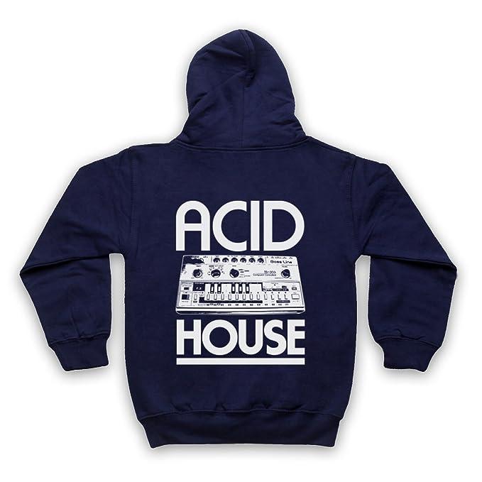 My Icon Art & Clothing Acid House Bass Synth Niños Sudadera con Capucha con Cremallera: Amazon.es: Ropa y accesorios