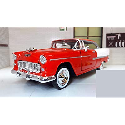 1:24 1955 CHEVY BEL AIR (colors may vary): Toys & Games