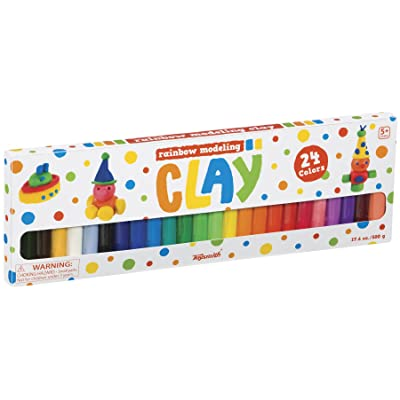 Toysmith Rainbow Clay: Toys & Games